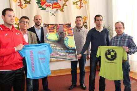 Presentación media maraton ciudad de Cartagena