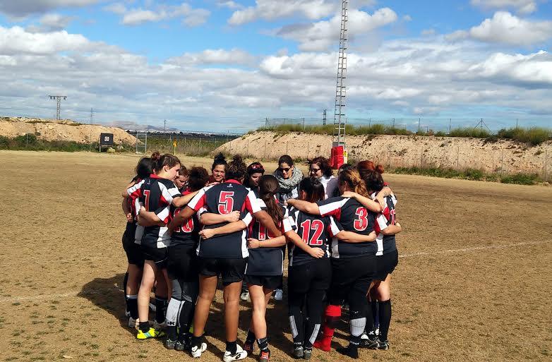 Rugby Cartagena femenino