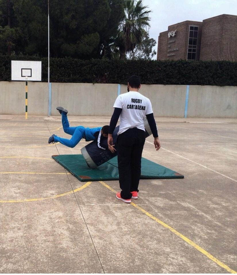 Rugby en Colegio San Felix 4