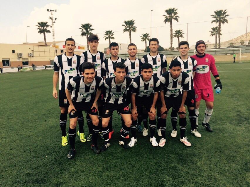 ALINEACIÓN DEL CARTAGENA FC FRENTE AL GUADALAJARA