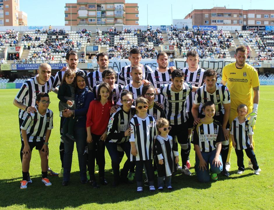 ALINEACIÓN DEL FC CARTAGENA FRENTE AL LUCENA CF