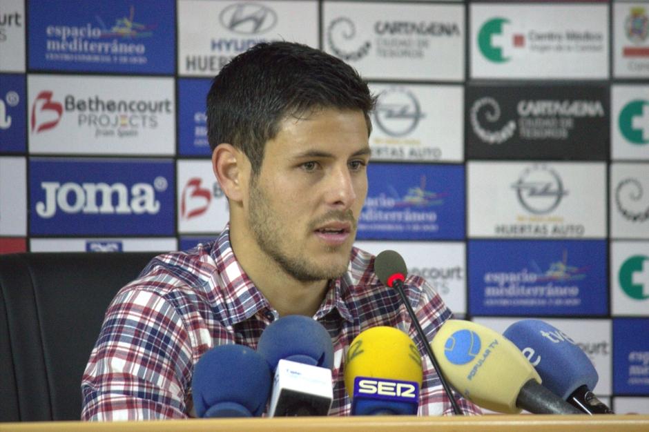 Carlos Martínez (foto de archivo). Foto: Pedro Gómez (Crónicas deportivas de Cartagena).