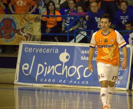 Dani Gómez Plásticos Romero Cartagena FS Foto Pedro Gómez (Crónicas deportivas de Cartagena)