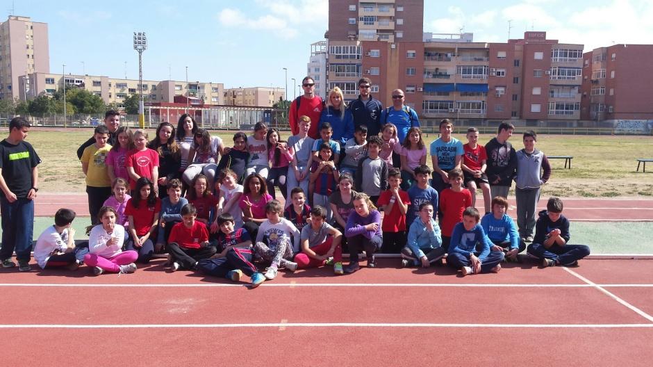 Atletismo colegio Gabriela Mistral