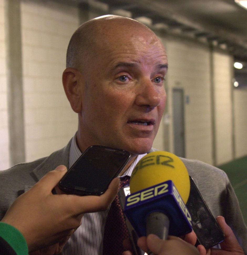 MIGUEL RIVERA POST PARTIDO UD ALMERÍA B 2 FC CARTAGENA 0