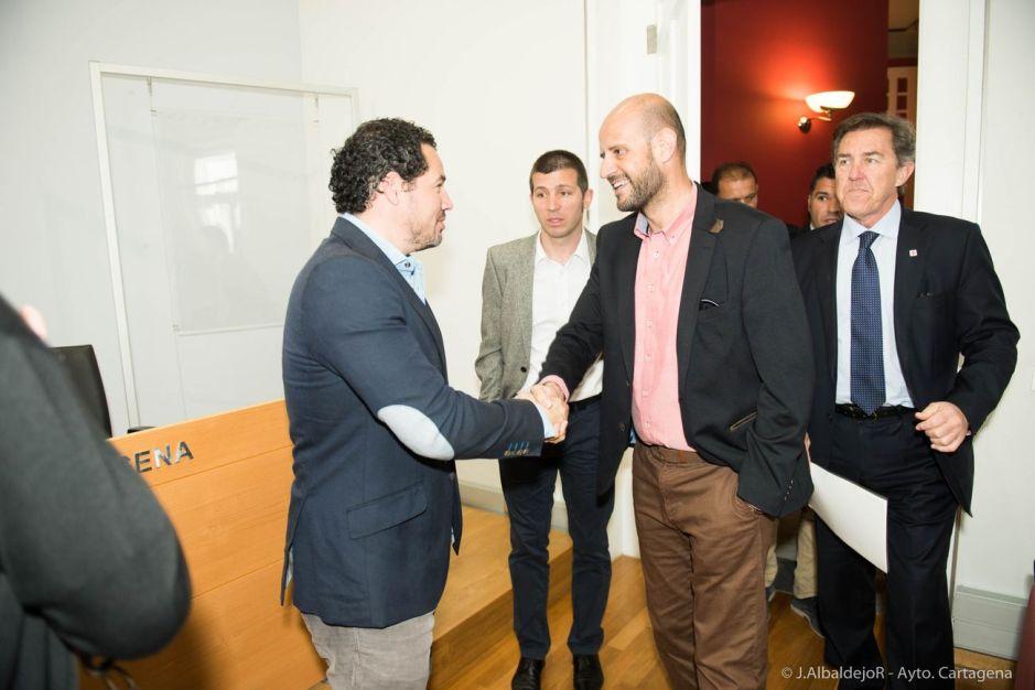 Presentación del Partido España Noruega-