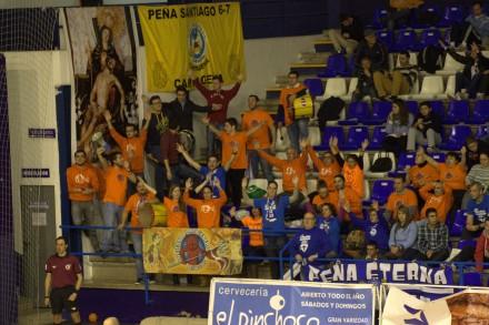 Afición en La Bombonera Foto: Pedro Gómez (Crónicas deportivas de Cartagena)