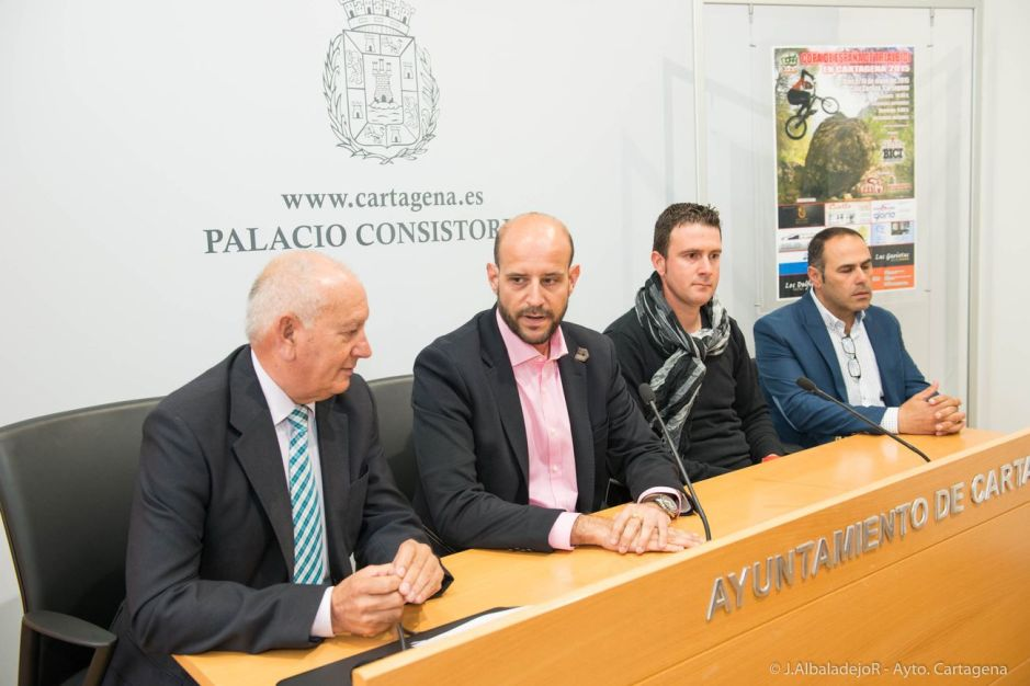 Copa de España de TrialBici en Cala Cortina Cartagena