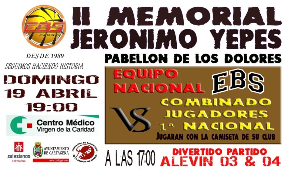 II Memorial Jerónimo Yepes
