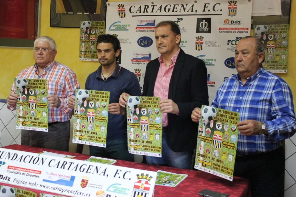 Presentación VI Torneo de Semana Santa Cartagena Efesé
