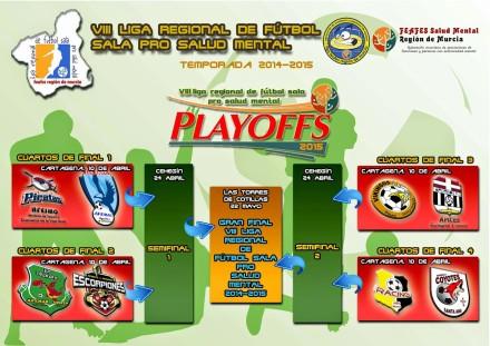 VIII Liga Regional de Fútbol Sala pro salud mental