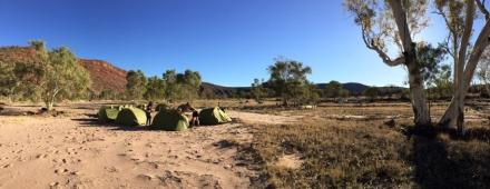 Campamento The Track