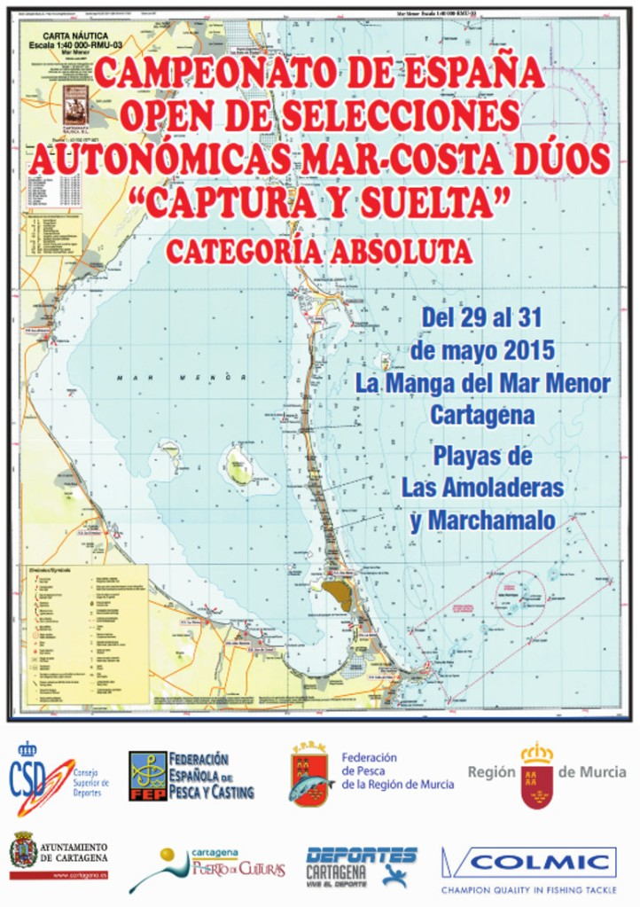 campeonato de España de pesca en Cartagena