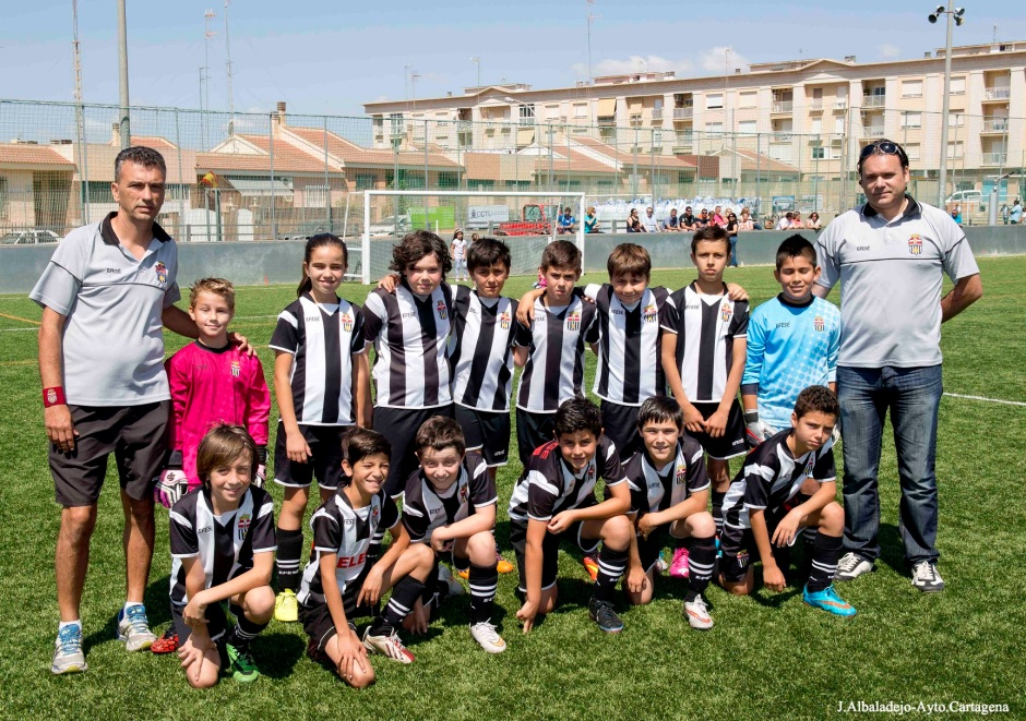 Equipo Cartagena FC Benjamín