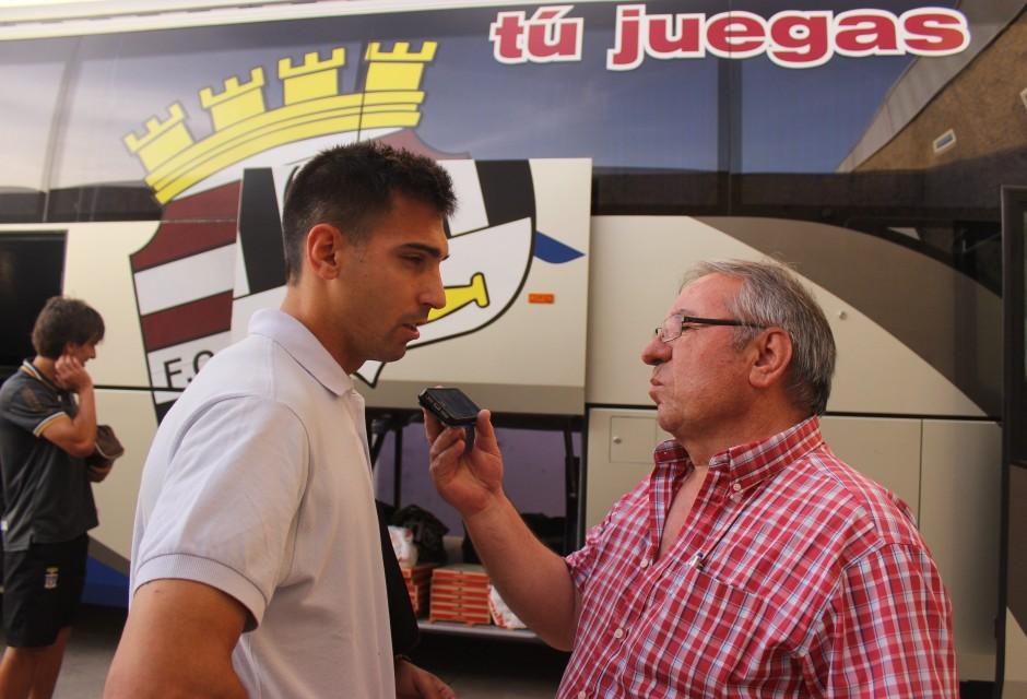 Fede y Pepe González en Jaén. Foto: Pedro Gómez (Crónicas deportivas de Cartagena).