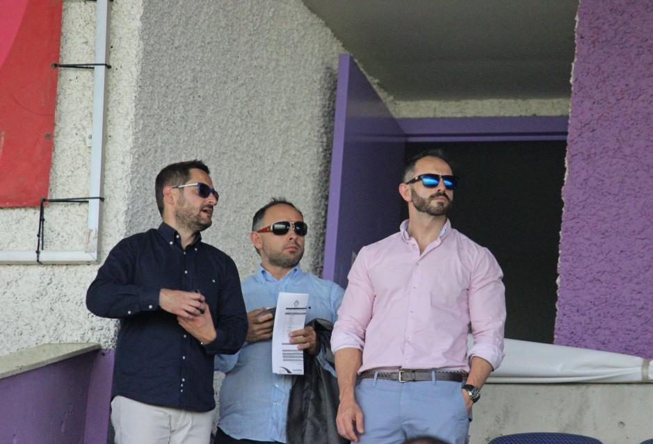 Paco Belmonte y Deseado Flores en Jaén. Foto: Pedro Gómez (Crónicas deportivas de Cartagena).