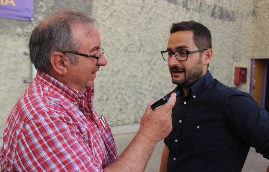 Pepe González y Paco Belmonte en Jaén