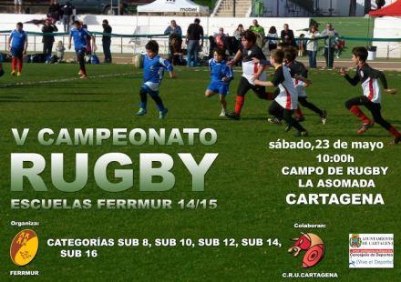 Torneo Escuelas de rugby en Cartagena-