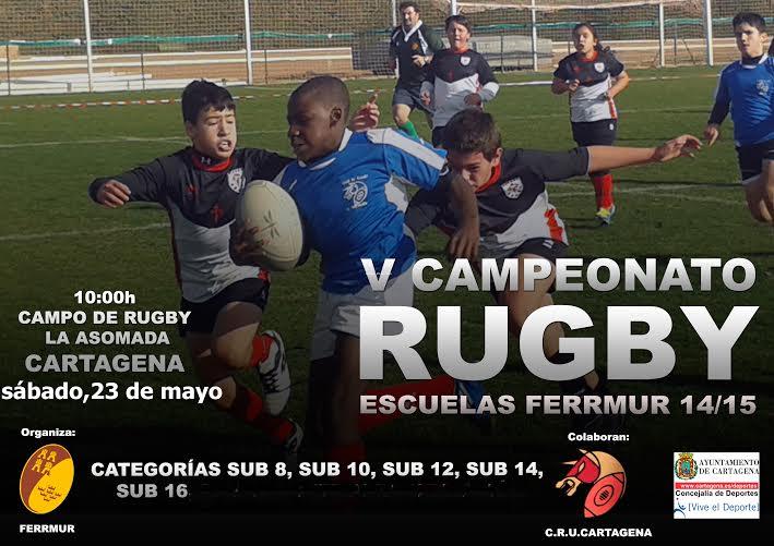 Torneo Escuelas de rugby en Cartagena