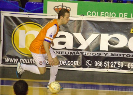 Francisco José Cartagena F.S. Foto: Pedro Gómez (Crónicas deportivas de Cartagena)