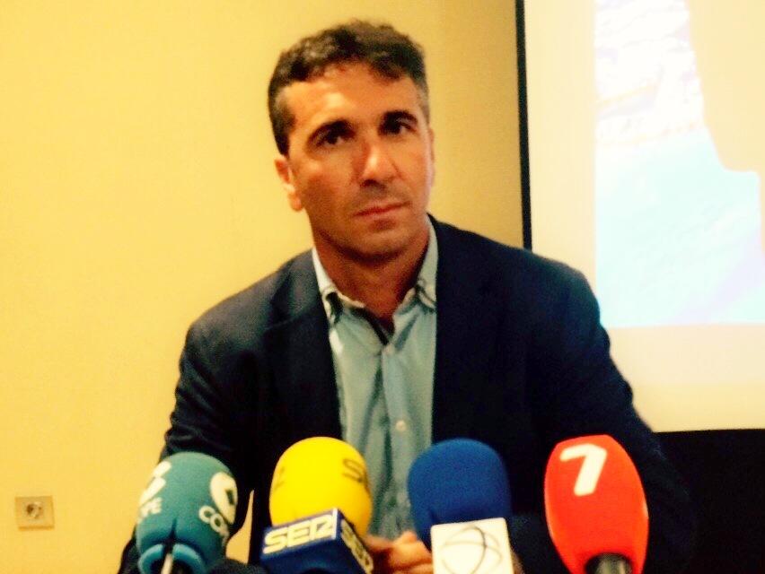 Pedro Cordero en rueda de prensa. Foto: Pepe González (OM Radio).