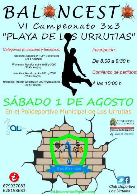 campeonato baloncesto Los Urrutias