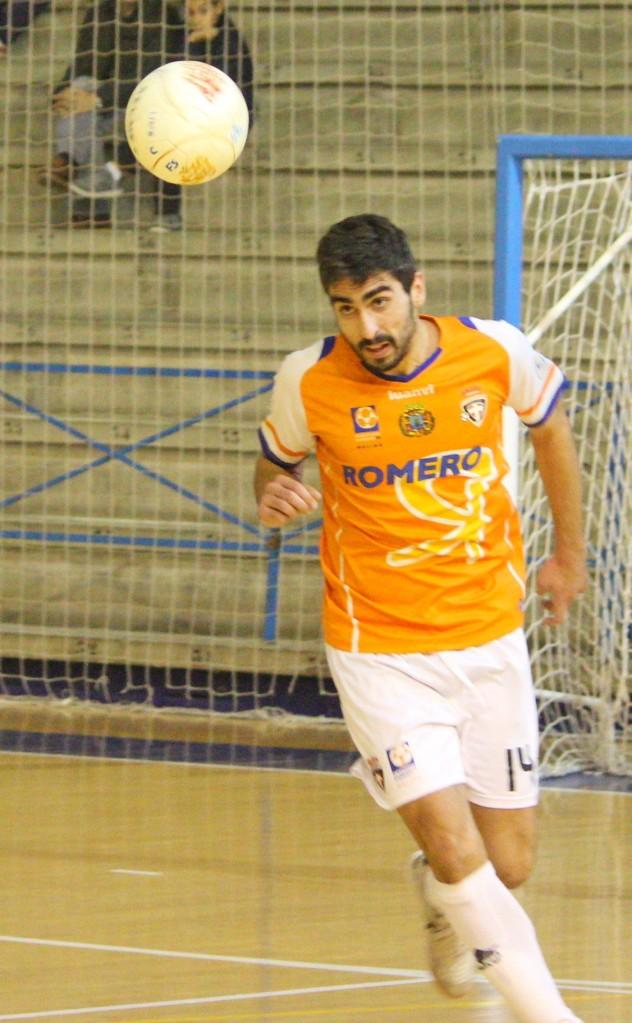 Dani Blanco. Foto: Pedro Gómez (Crónicas deportivas de Cartagena).