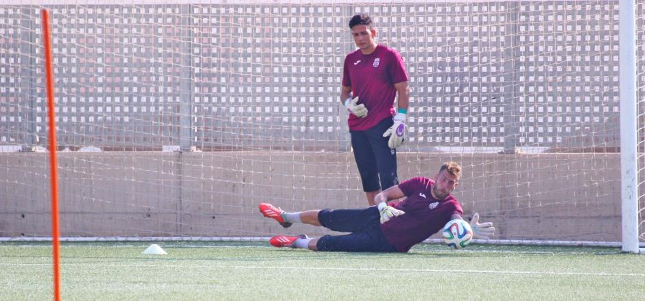 Entrenamientos del FC Cartagena 2015/16. Foto: Pedro Gómez (Crónicas deportivas de Cartagena).