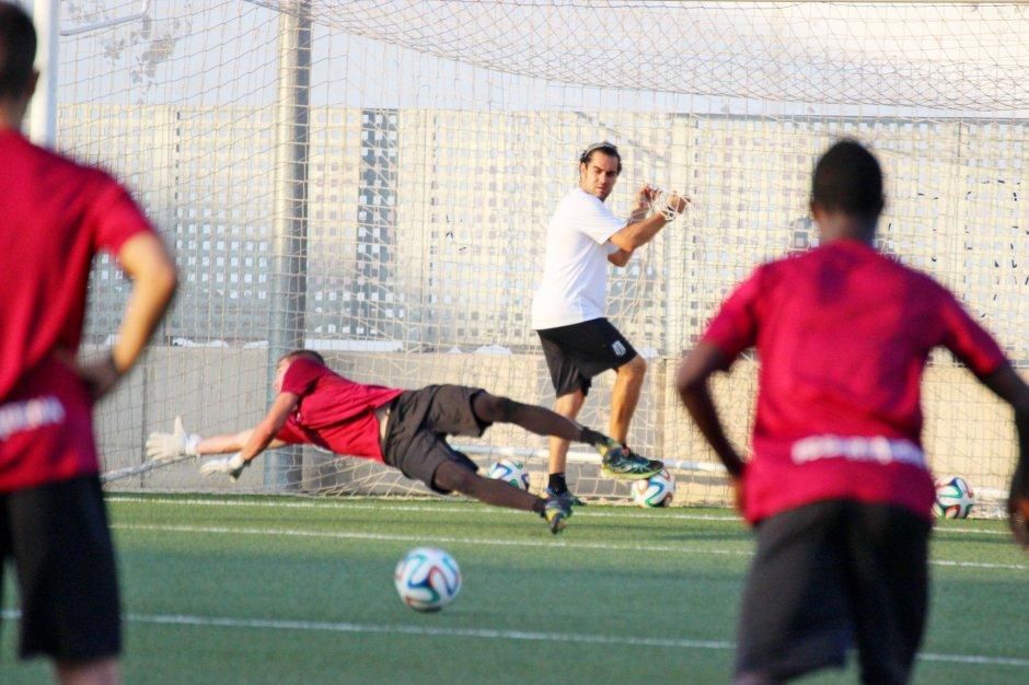 Entrenamientos del FC Cartagena 2015 16. Foto: Pedro Gómez (Crónicas deportivas de Cartagena).