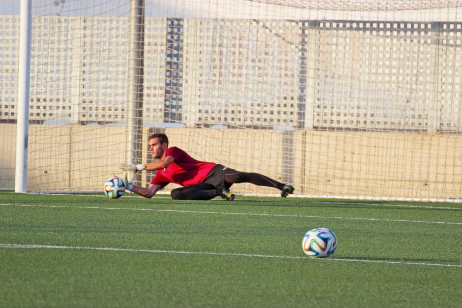 Entrenamientos del FC Cartagena 2015 16.- Foto: Pedro Gómez (Crónicas deportivas de Cartagena).