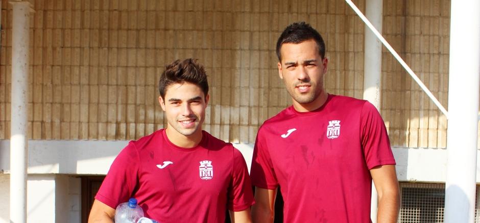 Entrenamientos del FC Cartagena 2015 16,., Foto: Pedro Gómez (Crónicas deportivas de Cartagena).