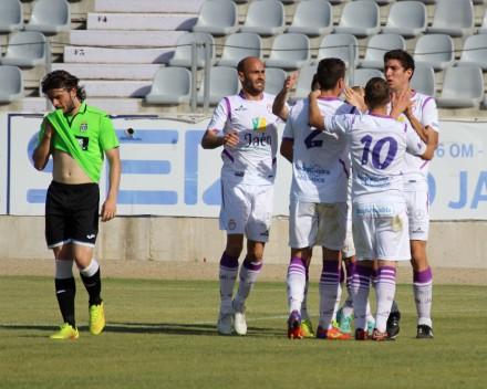 Gol de Álvaro Montero al FC CartagenaFoto: Pedro Gómez (Crónicas deportivas de Cartagena)