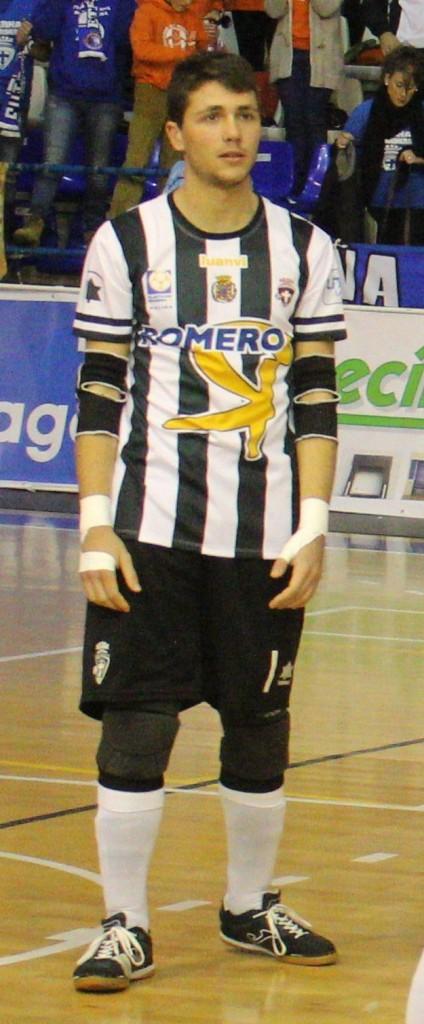 Isi, Cartagena FS. Foto: Pedro Gómez (Crónicas deportivas de Cartagena).