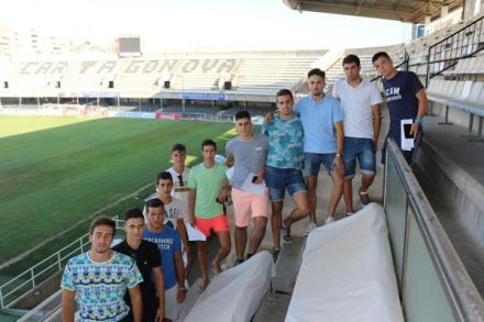 Jugadores del Cartagena B