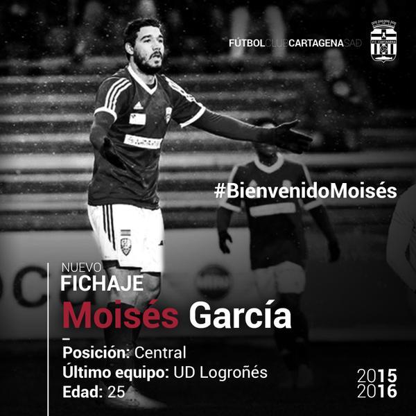 Moisés García FC Cartagena