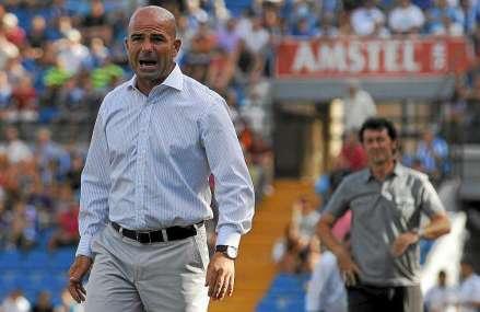 Paco López en el FC Cartagena Foto Abel Ros