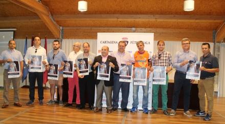Presentación Campaña de abonos del Plásticos Romero Cartagena FS 2015 16. Foto: Pedro Gómez (Crónicas deportivas de Cartagena)