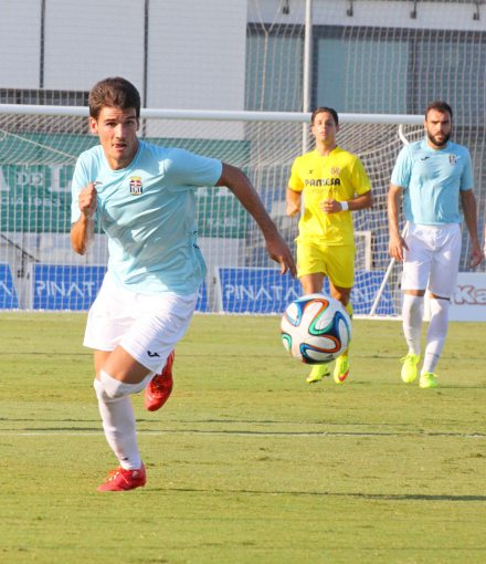 Pretemporada contra el Villarreal B. Foto: Pedro Gómez (Crónicas deportivas de Cartagena).