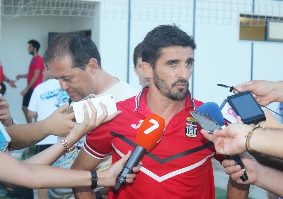 Víctor Fernández post partido contra el FC Pinatar (1)