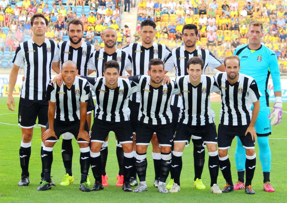 Alineación del FC Cartagena en Cádiz