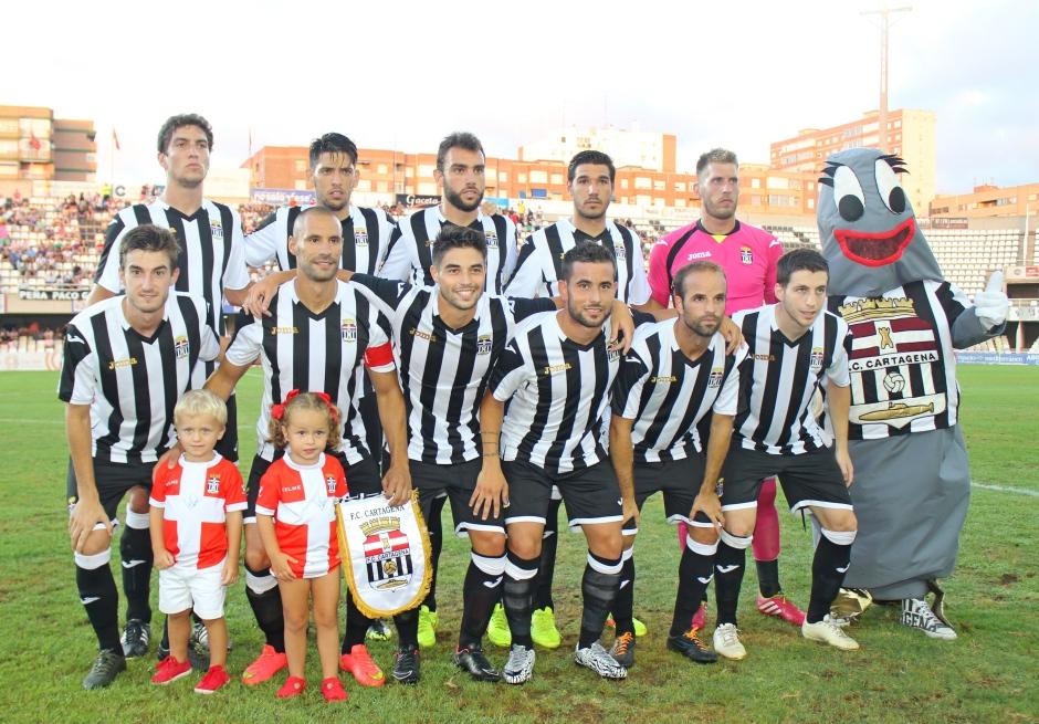Alineación FC Cartagena contra el Linares Deportivo
