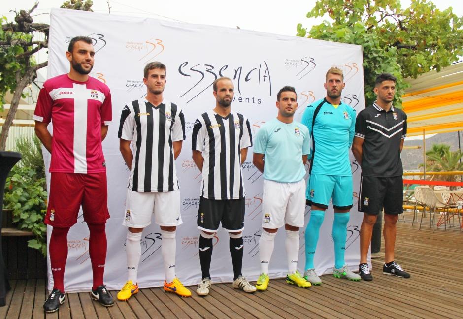 EQUIPACIONES DEL FC CARTAGENA 2015 16