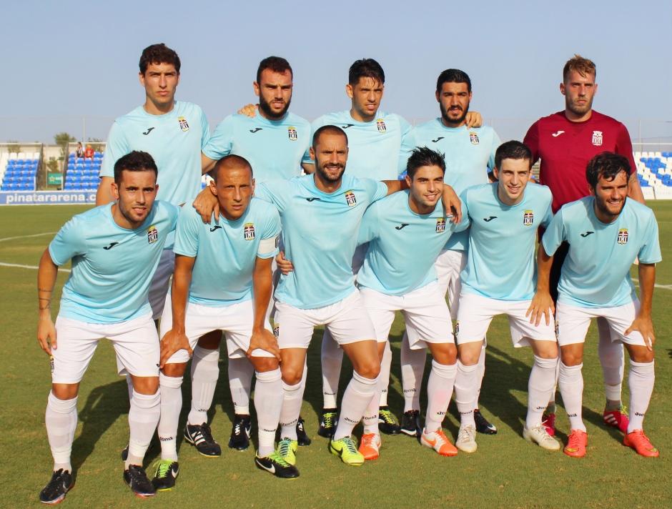 Partido de pretemporada del FC Cartagena contra el CD Atlético Baleares. Foto: Pedro Gómez (Crónicas deportivas de Cartagena).