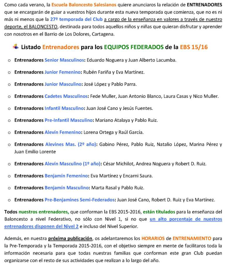 LISTADO ENTRENADORES 15_16