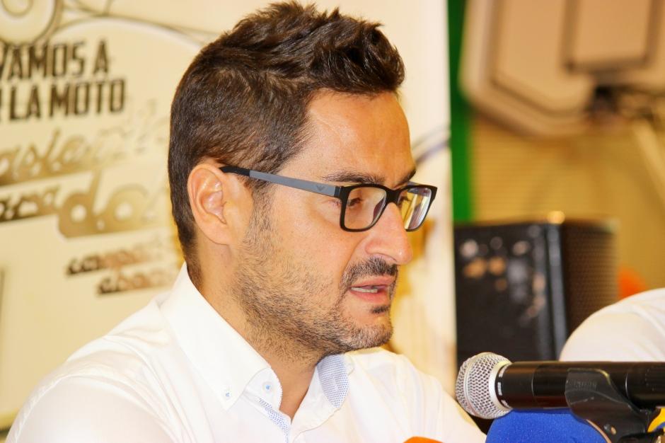 Paco Belmonte en presentación de Menudo y Sergio García (1)