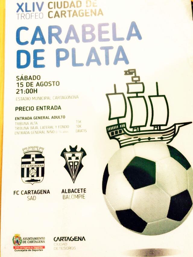 Cartel del torneo. Foto: Pepe González (OM Radio).