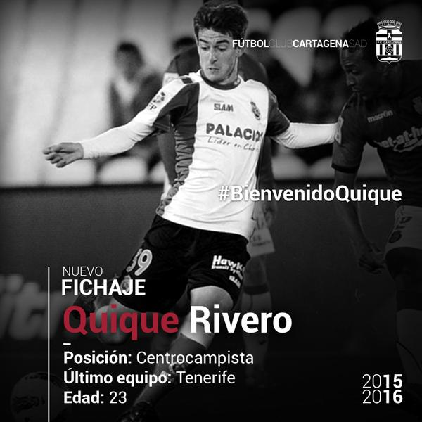 Quique Rivero FC Cartagena