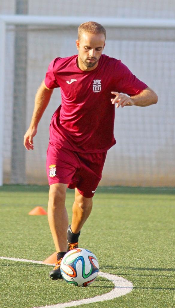 Sergio García en un entreno. Foto: Pedro Gómez (Crónicas deportivas de Cartagena).
