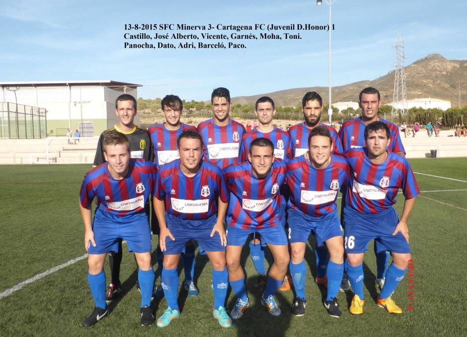 SFc Minerva-Cartagena FC 13-8-015
