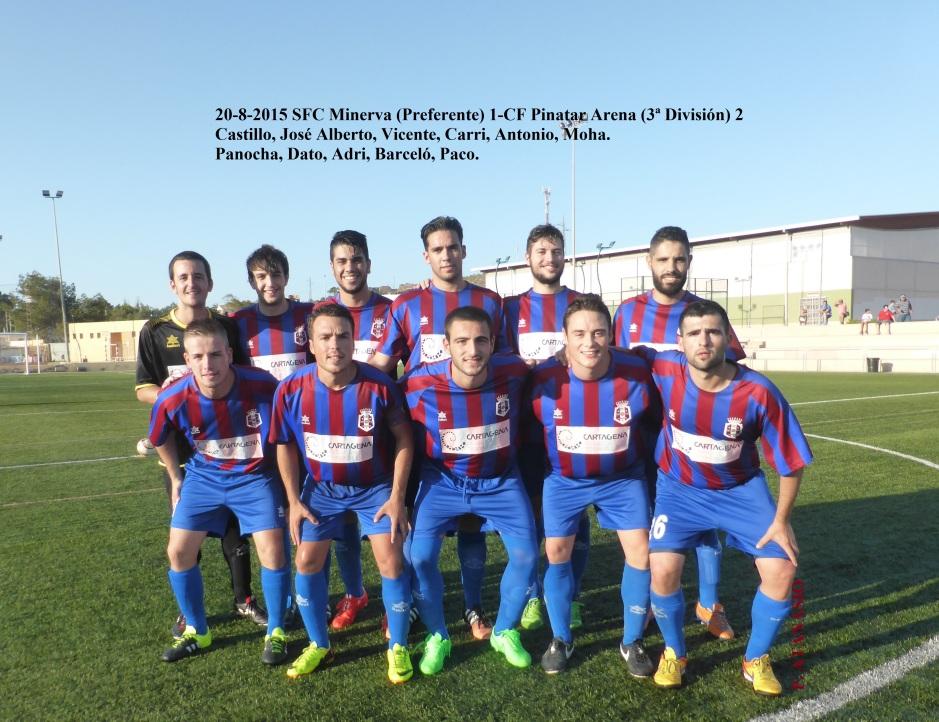 SFC Minerva-Pinatar Arena 20-8-015